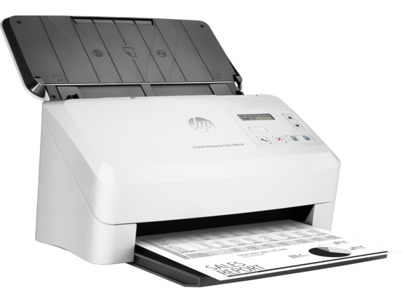 HP, ScanJet, Enterprise, Flow, 5000, s4, Sheet-feed, Desktop, Scanner,