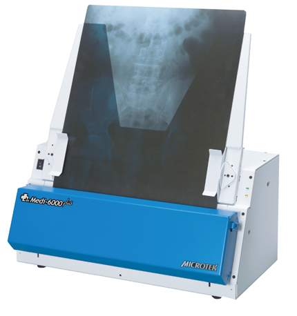 Microtek, Medi-6000, Plus, Xray, Digitizer, with, Autofeed, and, MiPAX, Software,
