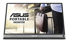 ASUS, MB16AC, 15.6, Inch, FHD, ZenScreen, IPS, Portable, USB, Type-C, Monitor,