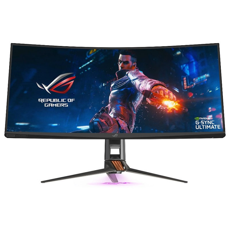 ASUS, ROG, Swift, PG35VQ, 35, Inch, 200Hz, UWQHD, 2ms, Curved, G-Sync, Gaming, Monitor,