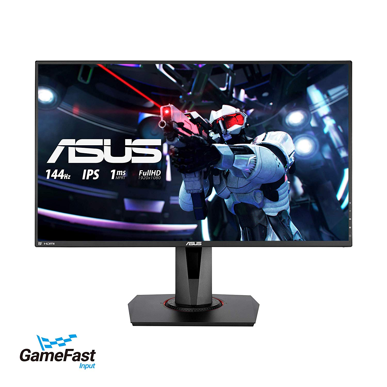 ASUS, VG279Q, 27, Full, HD, 1080p, IPS, 144Hz, Gaming, Monitor, with, FreeSync/Adaptive, Sync,