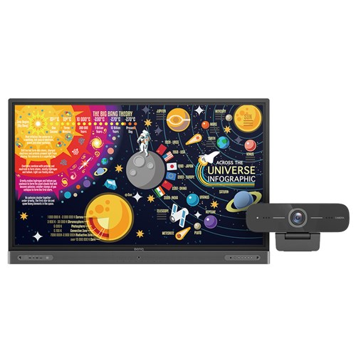 Benq, RP6502, 65, UHD, 3840x2160, 20, Touchscreen,