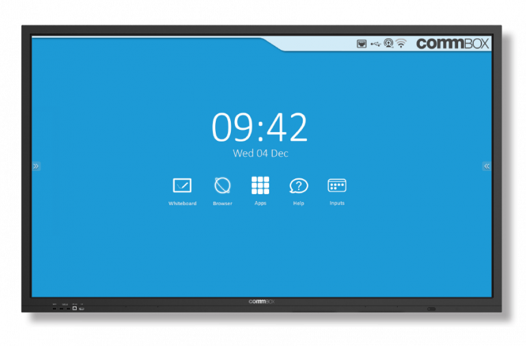 CommBox, Interactive, Classic, v3, 4K, 65, Touchscreen,