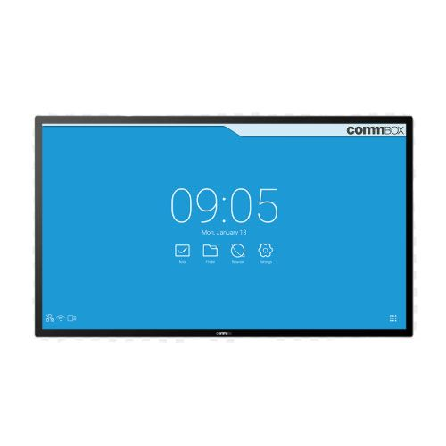COMMBOX, (CBIP86), 86, Interactive, Pulse, Display, W/, Poly, Studio, X50, VC, Bar, and, Mount, Kit,