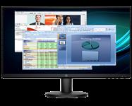 HP, V24i, FHD, 23.8, inch, Monitor,