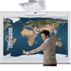 Hitachi, LINKEZ2, 90, Standard, Interactive, Whiteboard, Hitachi, Projector, Bundle,