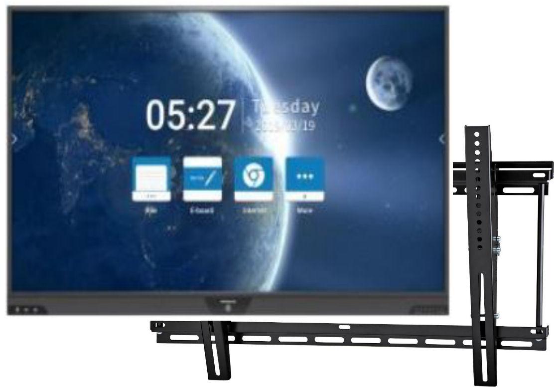 Hitachi, 65, UHD, Interactive, Touchscreen, with, Mirroring, Annotation, plus, Wallmount,