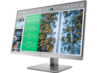 HP, EliteDisplay, E243, (1FH47AA), 23.8, IPS, 16:9, 1920x1080, 5MS, 5M:1, VGA, DP, HDMI, 3xUSB, Tilt+Swivel+Pivot, H-ADJ, 3YR, Warranty,