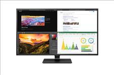 LG, 43, (16:9), UHD, IPS, LED, 3840x2160, HDMI(4), DP, USB-C, HDR10, PIP/PBP, VESA, 3YR,
