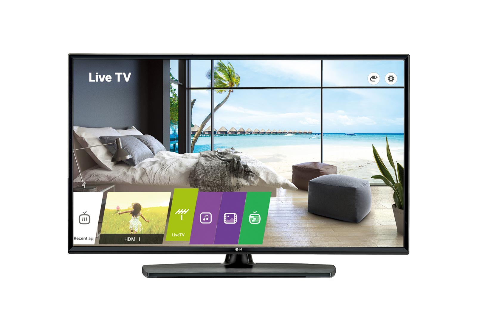 LG, COMMERCIAL, HOTEL, (UU665H), 43, UHD, TV, 3840x2160, HDMI, LAN, SPKR, PRO:CENTRIC, S/W, 3YR,