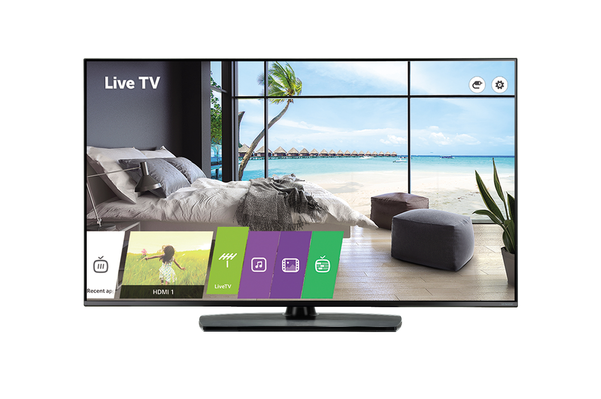 LG, COMMERCIAL, HOTEL, (UT761H), 55, UHD, TV, 3840x2160, HDMI, LAN, SPKR, PRO:CENTRIC, S/W, 3YR,