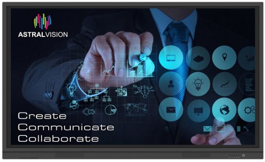 Astralvision, AVSA, Pro, 86, 4K, 20, point, Touchscreen,