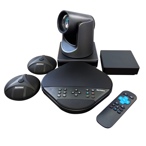 BizVideo, Video, Conferencing, System, inc, Expansion, Mics, -, Small, to, Medium-Sized, Meeting, Rooms,