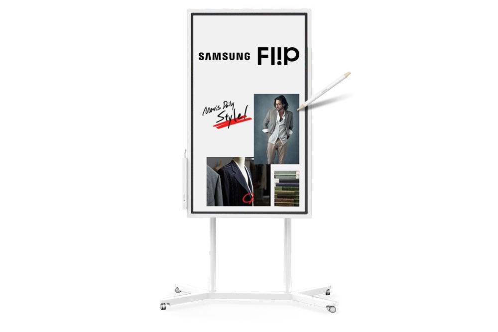 Samsung, FLIP, 55in, Interactive, Digital, Flipchart,