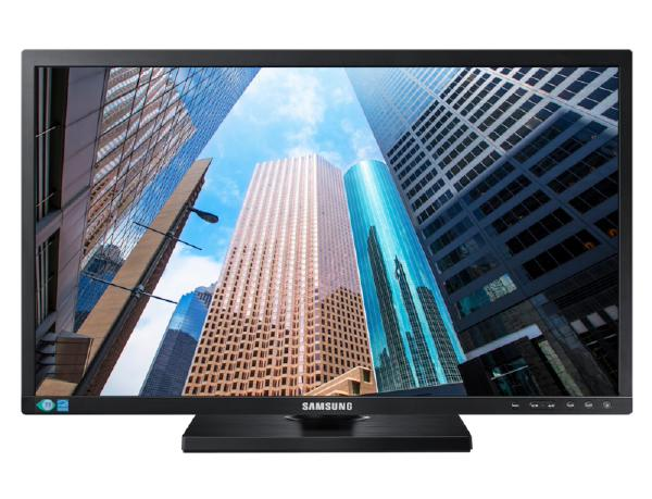 Samsung, E45, LS24E45KDSC, 24.0, 16:9, Flat, TN, panel, DVI, DP, (Cable, Included), Height, Adjustable, Stand,