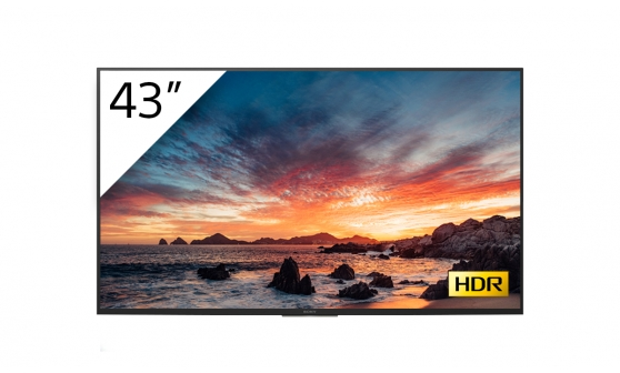 Sony, Bravia, X80H, 43, 4K, UHD, 17/7, 440Nit, Android, Commercial, TV,