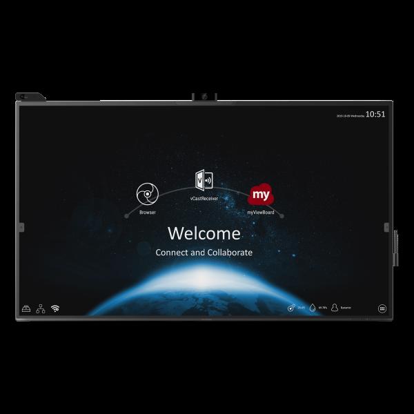 Viewsonic, VIEWBOARD, 70-SERIES, 65, 4K, Interactive, Display, plus, WiFi,