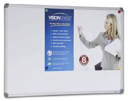 Visionchart, Corporate, Magnetic, Whiteboard, 600, x, 450mm, -, Custom, Printed,