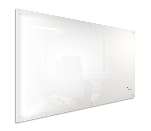 Visionchart, GLASSBOARD, LUMIERE, 1200x1200MM, WHITE,