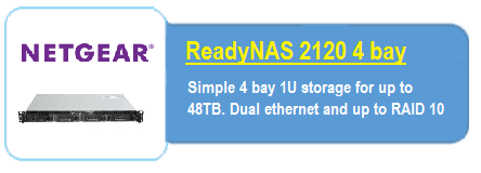 Readynas 2120 rack nas