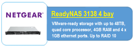 Readynas 3138 rack nas