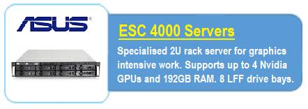 ASUS ES4000 Servers
