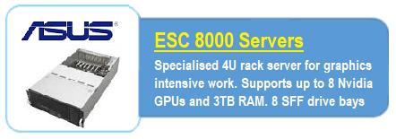 ASUS ES8000 Servers