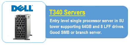 Dell T340 Servers