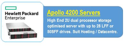 HPE Apollo 4200 Servers