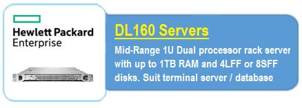 HPE DL 160 Servers