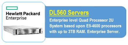 HPE DL560 Servers