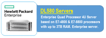 HPE DL580 Servers