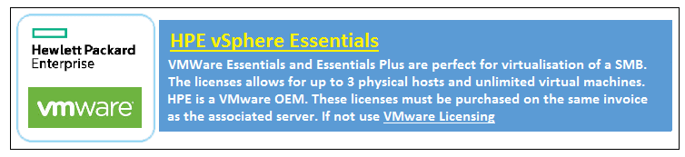 HPE VMWARE Essentials