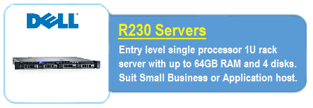 Dell R230 Servers