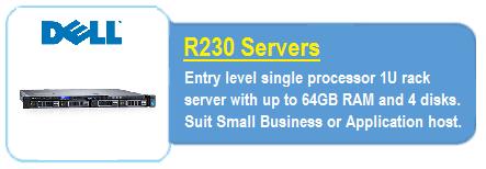 Dell R230 Servers