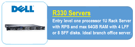 Dell R330 Servers