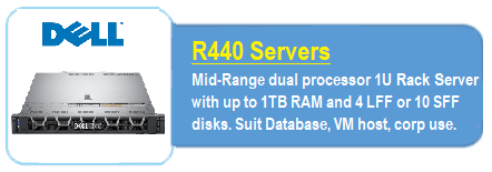 Dell R440 Servers