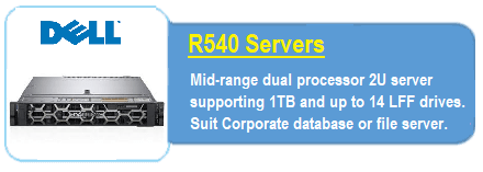 Dell R540 Servers