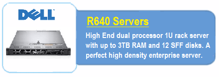 Dell R640 Servers