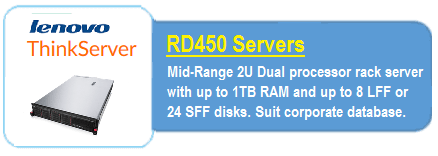 Lenovo RD450 Servers