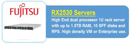 Fujitsu RX2530 Servers