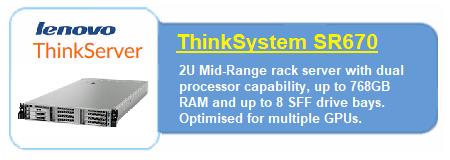 Lenovo SR670 Servers