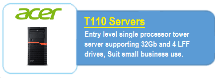 Acer T110 Servers