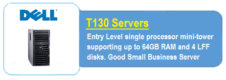 Dell T130 Servers