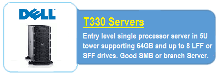 Dell T330 Servers