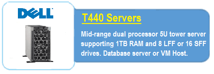 Dell T440 Servers