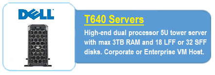Dell T640 Servers