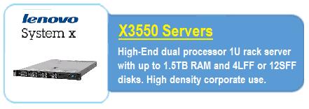 Lenovo X3550 Servers