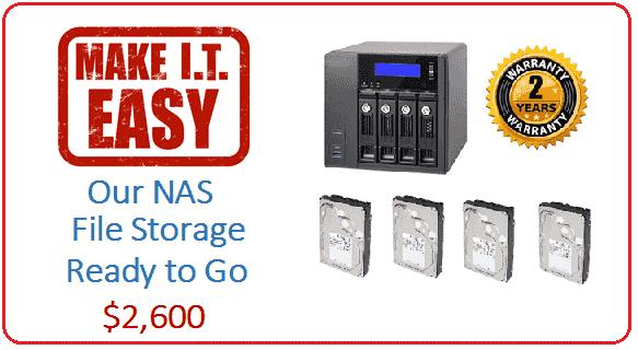 Make IT East NAS Server