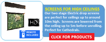 ED Series Electric Drop Screens